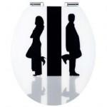 getrennte Wege gehen WC Asiento
