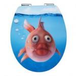erschrockener Fisch
