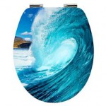 blaue Welle Stlye
