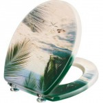 palmen strand hell WC sitz