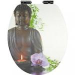 WC Sitz mit Budda