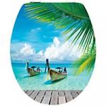 WC SItz im Karibik Paradis Style