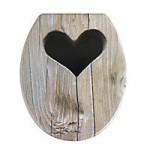 WC SItz als Holz Dixxi KLo mit Herz
